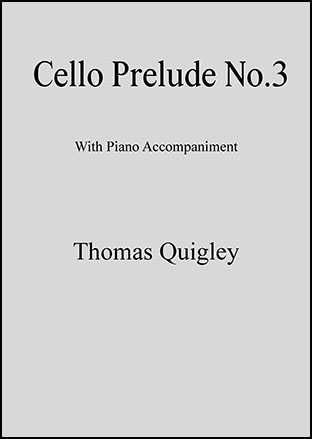 Cello Prelude No.3