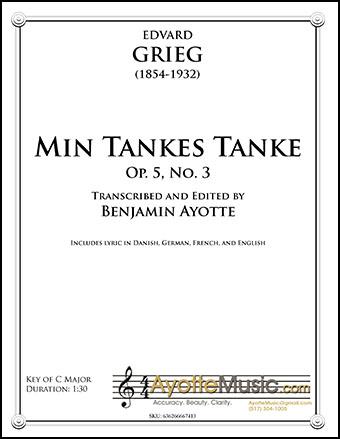 Min Tankes Tanke, Op. 5, No. 3