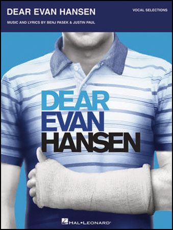 Dear Evan Hansen vocal sheet music cover
