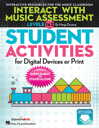 Interact with Music Assessment Student Activities