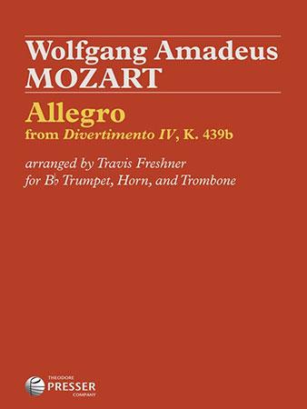 Allegro from Divertimento No. 4, K. 439b