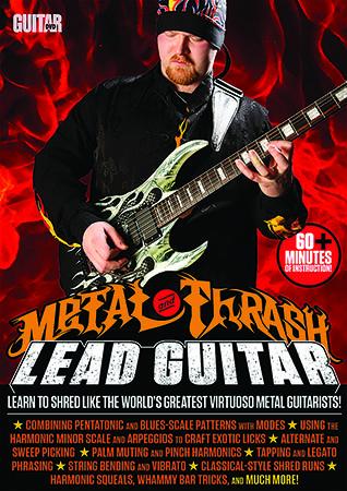 Metal Thrash Lead Guitar Cover