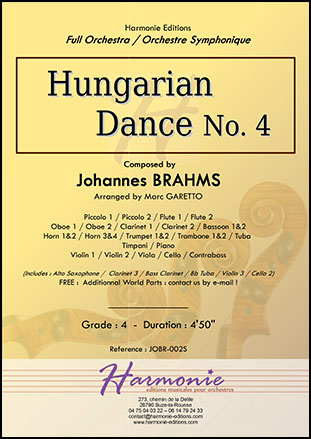 Hungarian Dance No. 4
