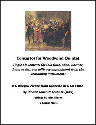 Allegro Vivace - Concerto in G for Flute