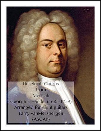 Hallelujah Chorus from Messiah for 8 guitars