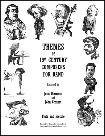 Themes of 19th Century Composers for Band