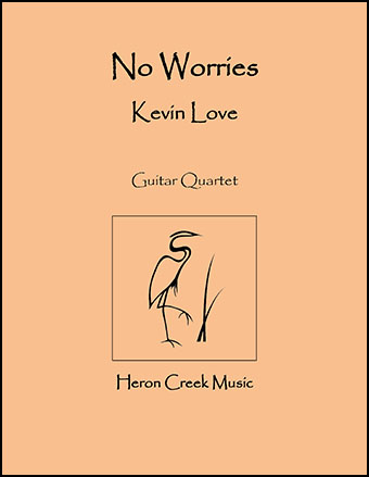 No Worries (Guitar Quartet)