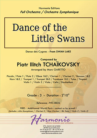 Dance of the Little Swans from Swan Lake