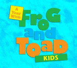 A Year with Frog & Toad Kids Cover