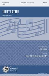 Wintertide choral sheet music cover