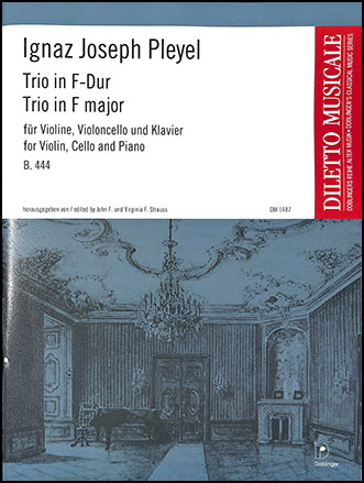 Trio in F Major, B. 444