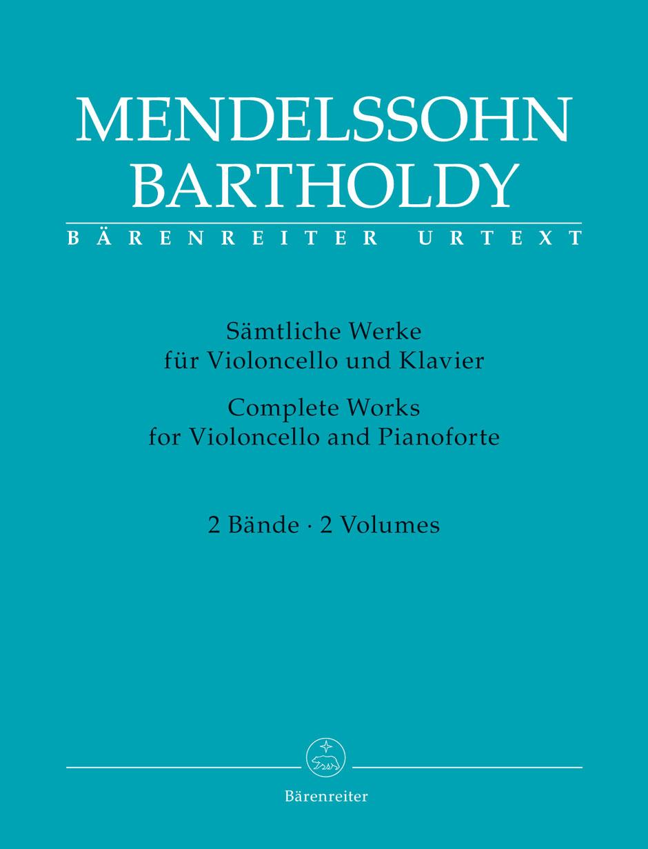 Complete Works for Violoncello and Pianoforte, Vol. 1-2