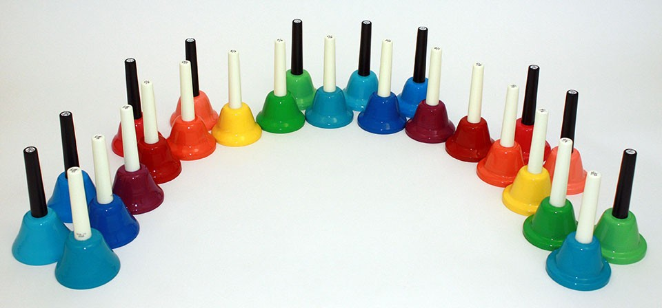 25-Note Kidsplay Handbell Set