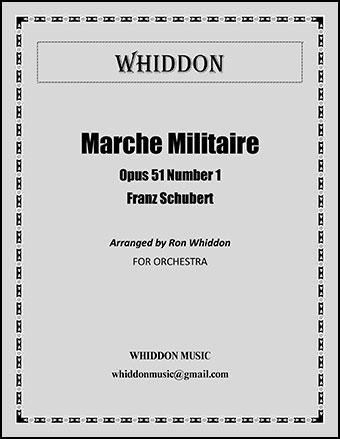 Marche Militaire, No. 1