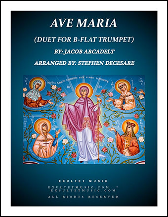 Ave Maria (Duet for Bb-Trumpet)