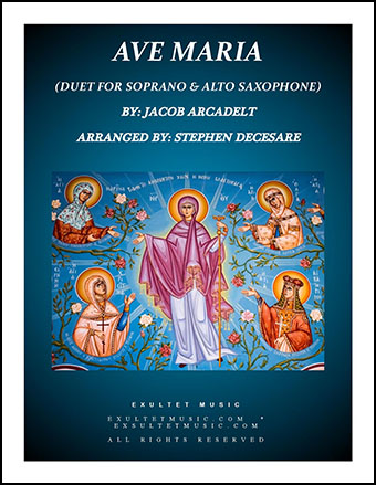 Ave Maria (Duet for Soprano and Alto Saxophone)