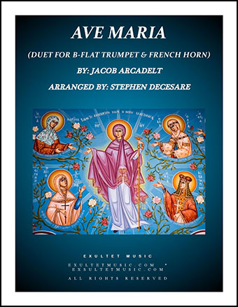 Ave Maria (Duet for Bb-Trumpet and French Horn)