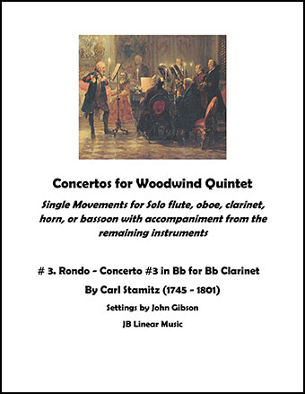 Concerto #3 for Clarinet and Woodwind Quintet