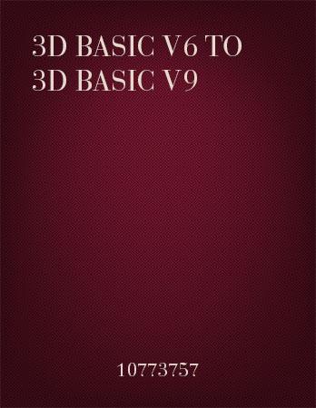 3D Basic to Basic Upgrades