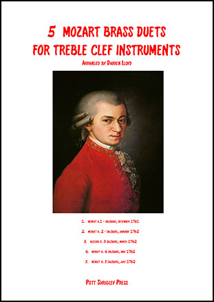 5 Mozart duets for Brass