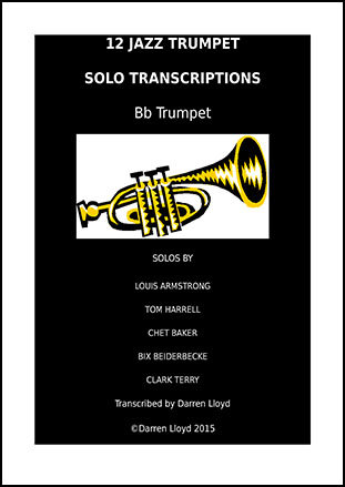 12 jazz Trumpet solo transcriptions