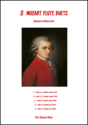 5 Mozart duets for Flute