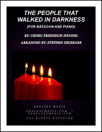 The People That Walked In Darkness (for Bassoon Solo)