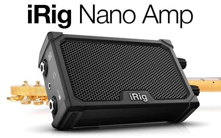 iRig Nano Amp pro audio image