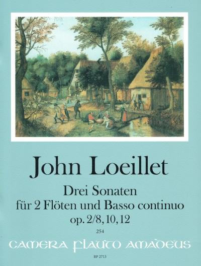 Three Sonatas, Op. 2/8, 10, 2