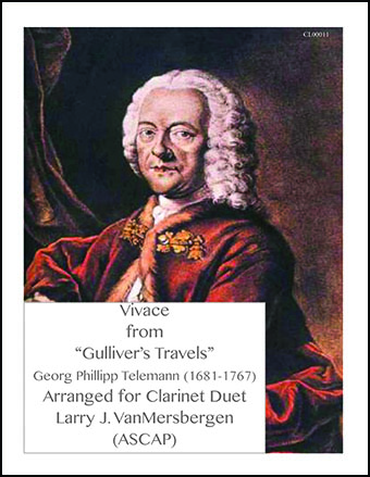 Vivace from Gulliver's Travels TWV40