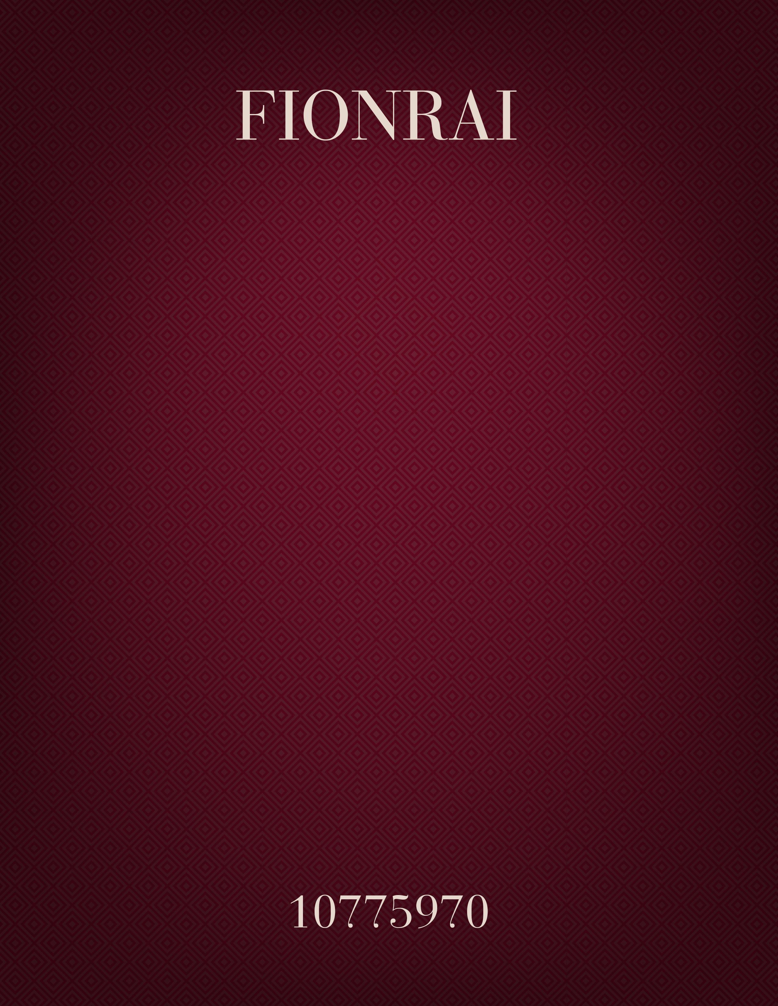 Fionrai