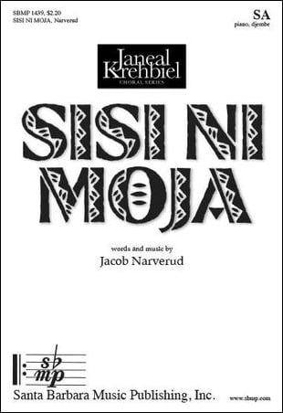 Sisi Ni Moja choral sheet music cover