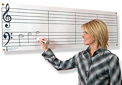 Dry Erase Music Staff