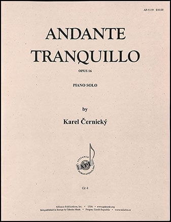 Andante Tranquillo Op. 16