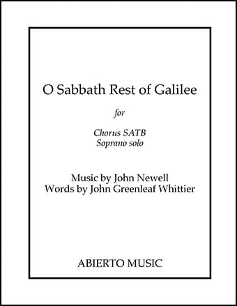 O Sabbath Rest of Galilee