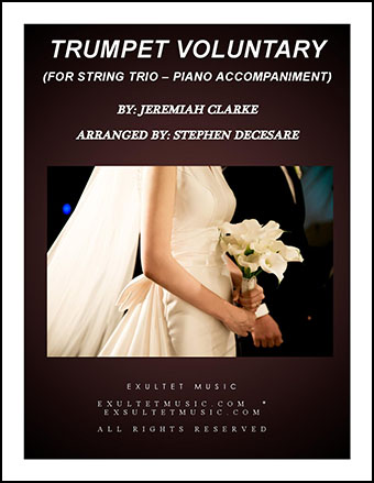 Trumpet Voluntary (for String Trio - Piano Accompaniment)