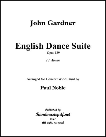 English Dance Suite (Original Version) Complete