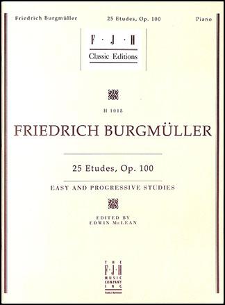 25 Etudes Op. 100