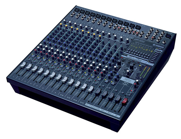 Yamaha Powered Mixer EMX5016CF