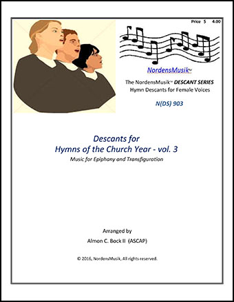 Descants for Hymns of the Church Year - vol. 3