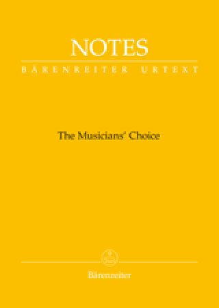 Barenreiter Notes