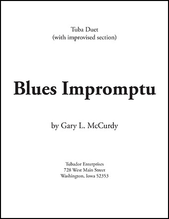 Blues Impromptu