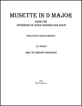 Musette in D Major for Flute and Clarinet