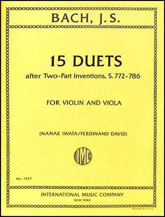 15 Duets (after Two-Part Inventions, S.772-786)
