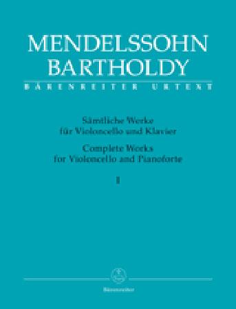 Complete Works for Violoncello and Pianoforte, Vol. 1