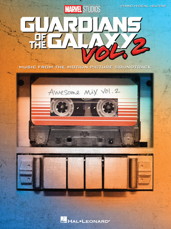 Guardians of the Galaxy, Vol. 2 vocal sheet music cover
