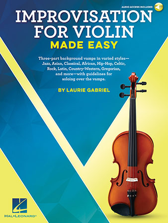 Improvisation for Violin Made Easy (Violin w | J W  Pepper