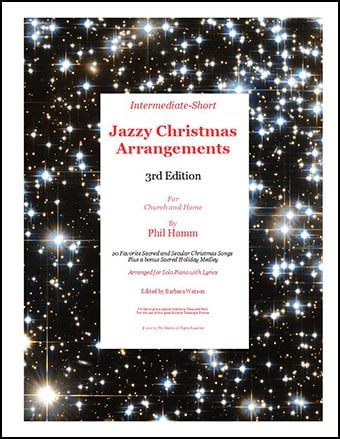 Jazzy Christmas Arrangements 3rd Edition
