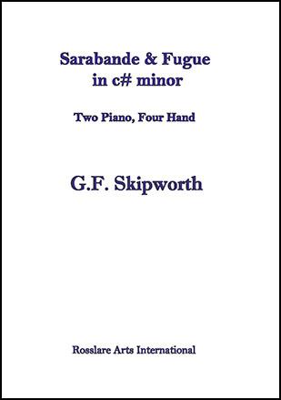 Sarabande & Fugue in c# minor