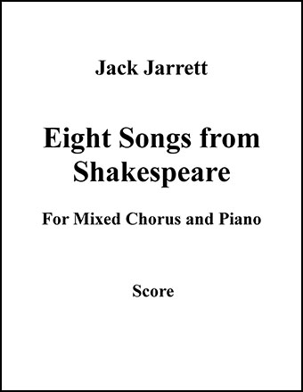 Eight Songs from Shakespeare